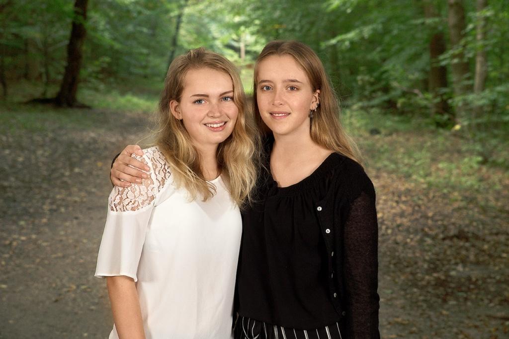 Foto af søstre